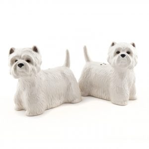 West Highland Terrier Pepper and Salt Set-0