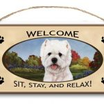 West Highland Terrier - Welcome Hanging Sign-0