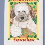 Soft Coated Wheaten Terrier Kitchen Tea Towel-0