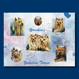 Yorkshire Terrier- Gift Wrap paper-0
