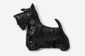 Scottish Terrier Hand Painted Pin-5382