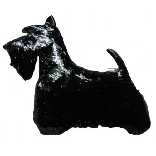 Scottish Terrier Hand Painted Pin-0
