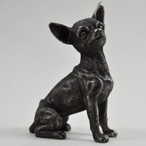 Chihuahua - Cold Cast Bronze-0