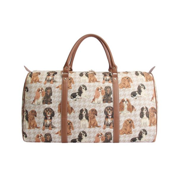 Cavalier King Charles Spaniel – Big Holdall Bag-5609