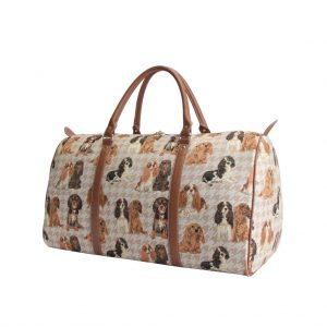 Cavalier King Charles Spaniel - Big Holdall Bag-0