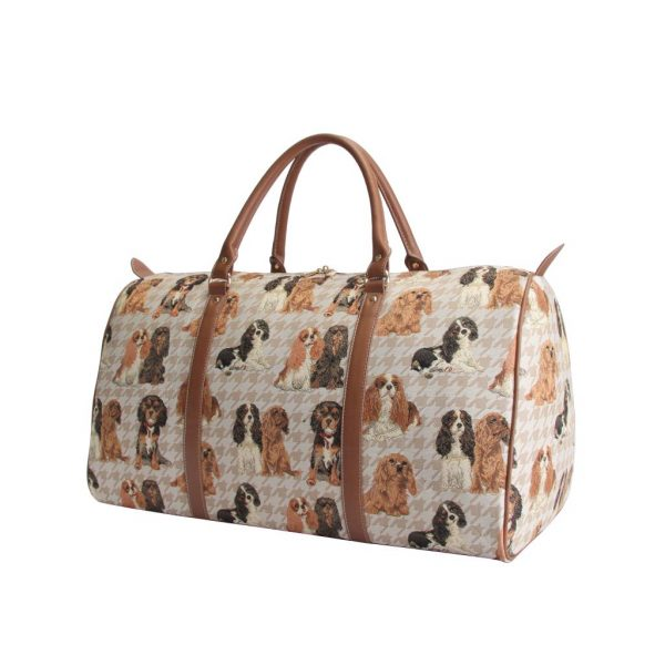 Cavalier King Charles Spaniel – Big Holdall Bag-0