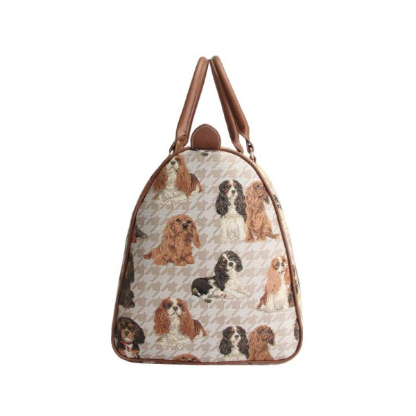 Cavalier King Charles Spaniel – Big Holdall Bag-5610