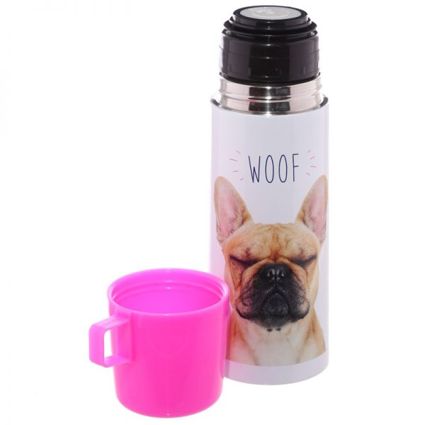 French Bulldog Stainless Steel Flask-5697