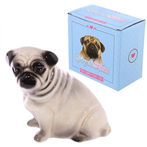 Pug Money Box-0