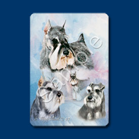 Schnauzer - Deck of Playing Cards-0