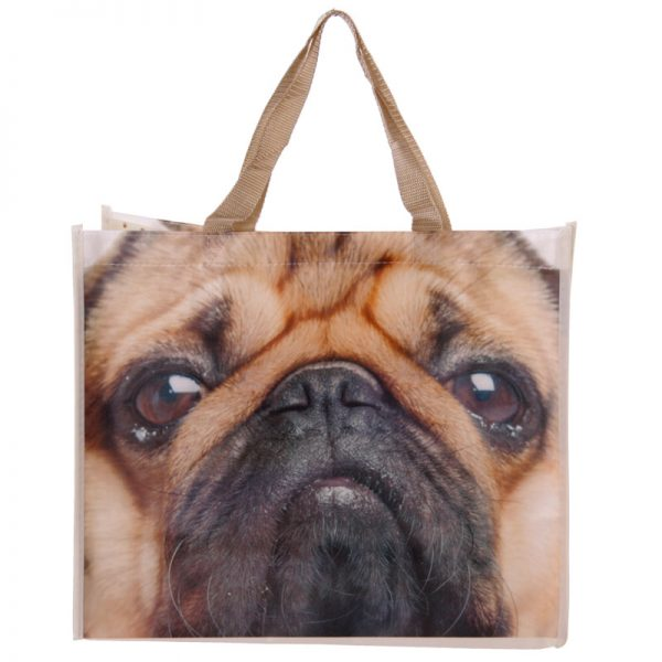 Pug Shopping Bag-5708