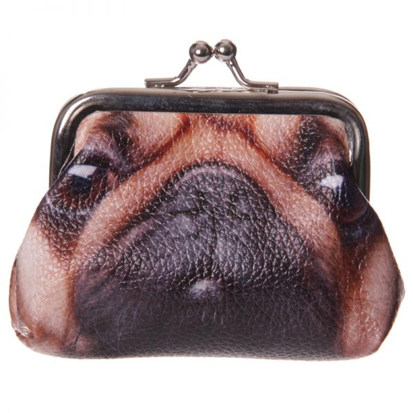 Pug Mini Coin Purse-0