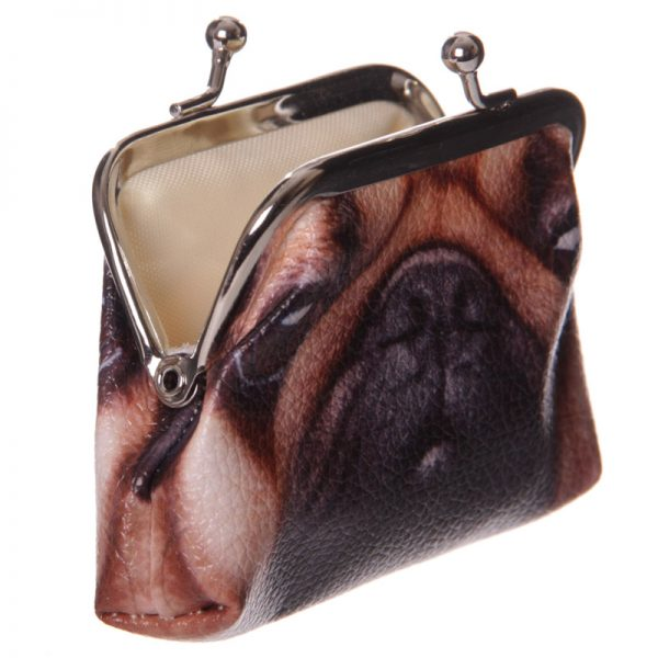Pug Mini Coin Purse-5753