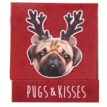 Pug (fawn) Nail File in Matchbook-0