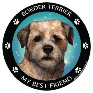 Border Terrier My Best Friend Magnet-0