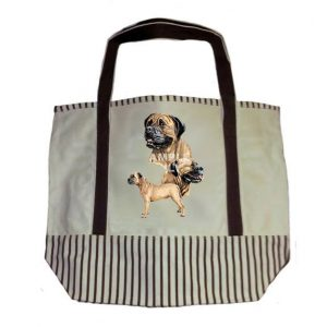 Bullmastiff Tote Bag-0