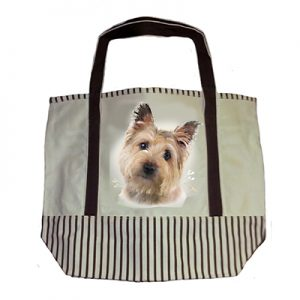 Cairn Terrier Tote Bag-0