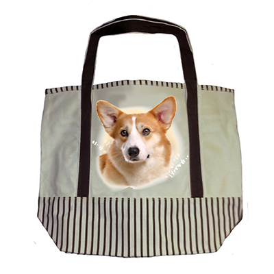 Welsh Corgi Tote Bag-0