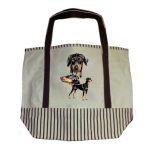 Doberman Tote Bag-0