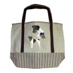 Fox Terrier Tote Bag-0