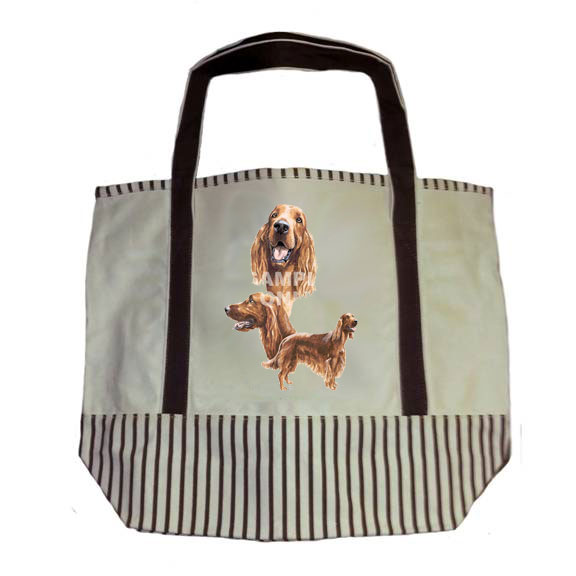 Irish Setter Tote Bag-0