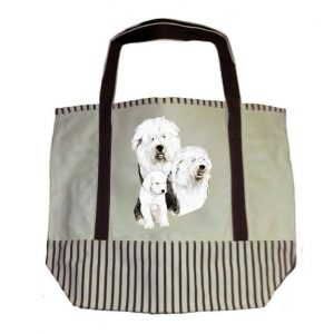 Old English Sheepdog Tote Bag-0