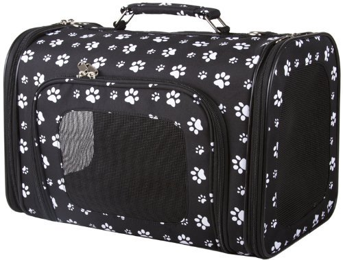 Paw Print Dog Carrier-0