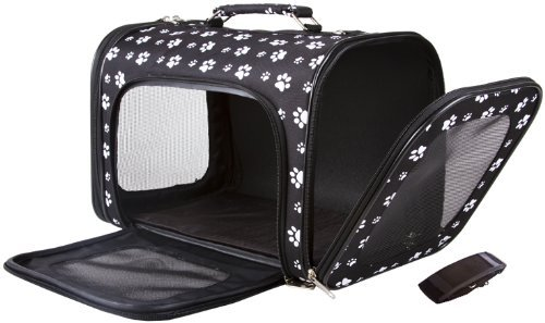 Paw Print Dog Carrier-6036