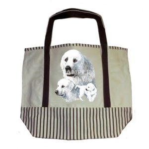 Pyrenean Mt Dog Tote Bag-0