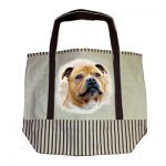 Staffordshire Bull Terrier Tote Bag-0