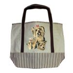 Yorkshire Terrier Tote Bag--0