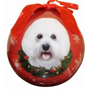 Bichon Frise Christmas Bauble-0