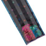 Laurel Burch - Blossoming Pups Silk Scarf-0