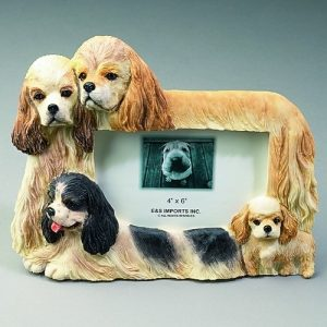 Cocker Spaniel Photo Frame-0