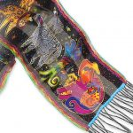 Laurel Burch – Dogs & Doggies Scarf-0