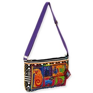 Laurel Burch 'Dog Tails Patchwork' Cross Body Bag-0