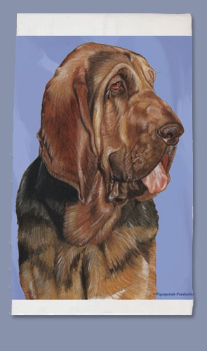 Bloodhound Kitchen Tea Towel-0
