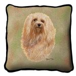 Havanese Tapestry Cushion Cover-0