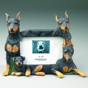 Miniature Pinscher Photo Frame-0