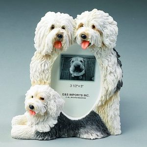 Old English Sheepdog Photo Frame-0