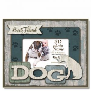 Best Friend Dog - 3D - Photo Frame -0