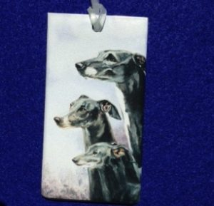 Whippet Luggage Bag Tag-0