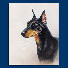 Manchester Terrier - 6 pack Note Cards-0