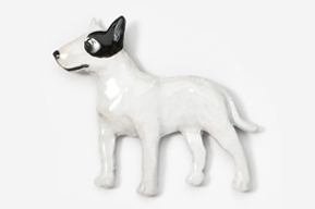 Bull Terrier Hand Painted Pin-0