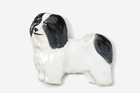 Havanese Hand Painted Pin-0