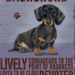 Dachshund - Hanging Metal Sign-0