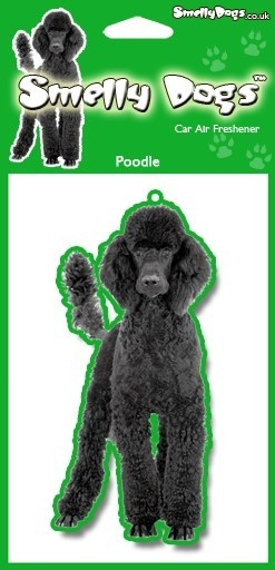 Poodle (black) - Air Freshener-0