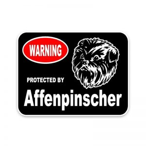Affenpinscher Car Sticker -0