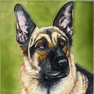 German Shepherd Tile-0