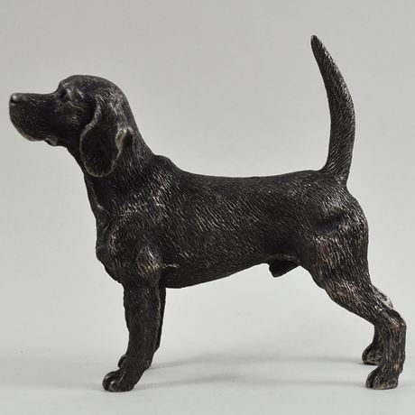 Beagle – Cold Cast Bronze-7533